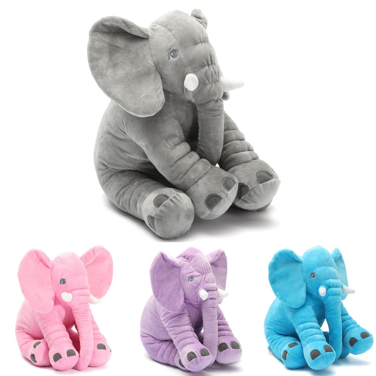 Elephant Soft Stuff Lumbar Cushion Baby Valentine's