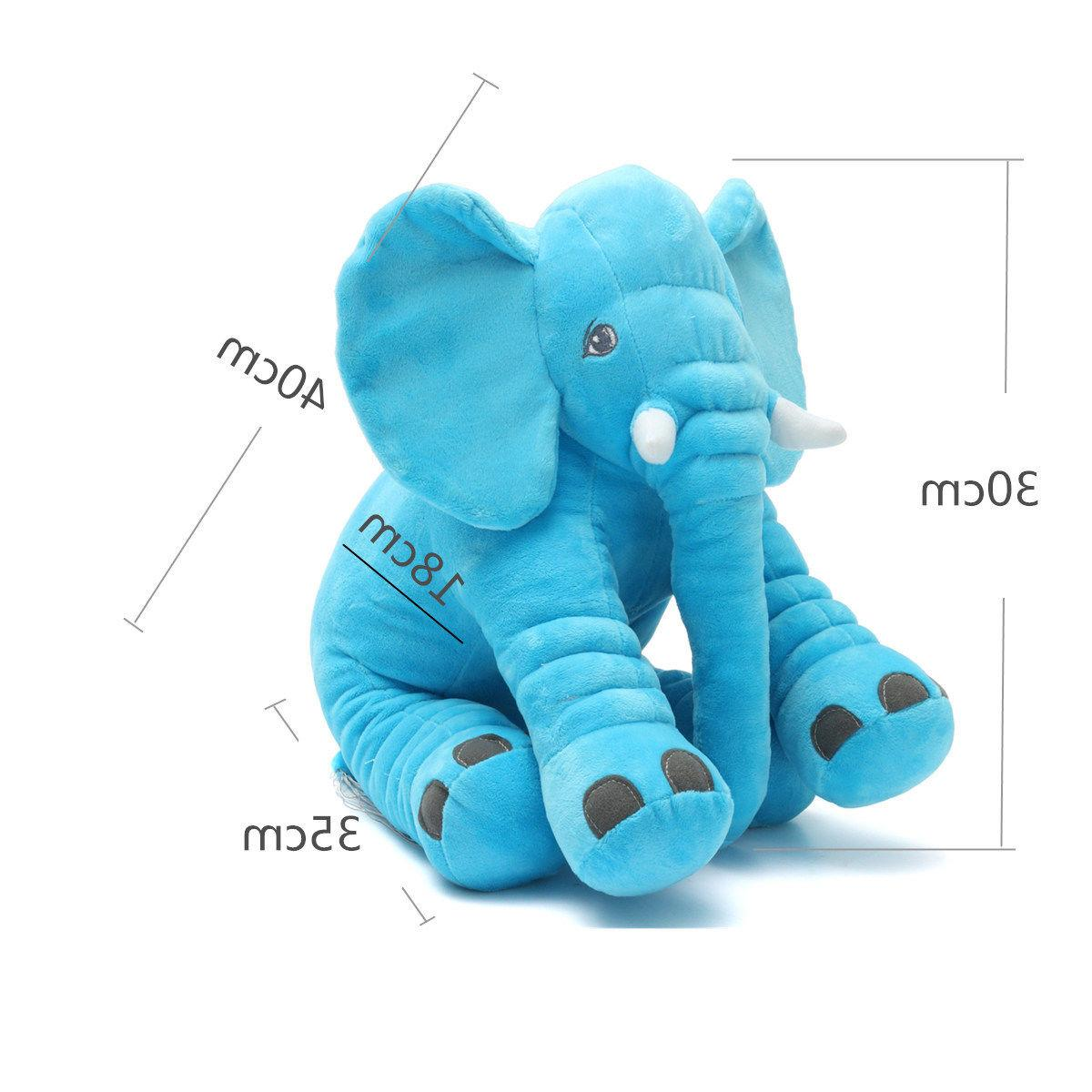 Elephant Pillow Stuff Toys Cushion
