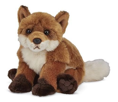 fenton stuffed animal red fox