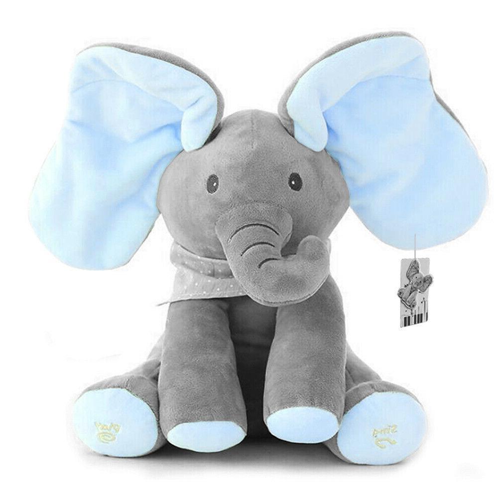 Flappy Ear The Elephant Peek-a-boo Liam Sing Toy