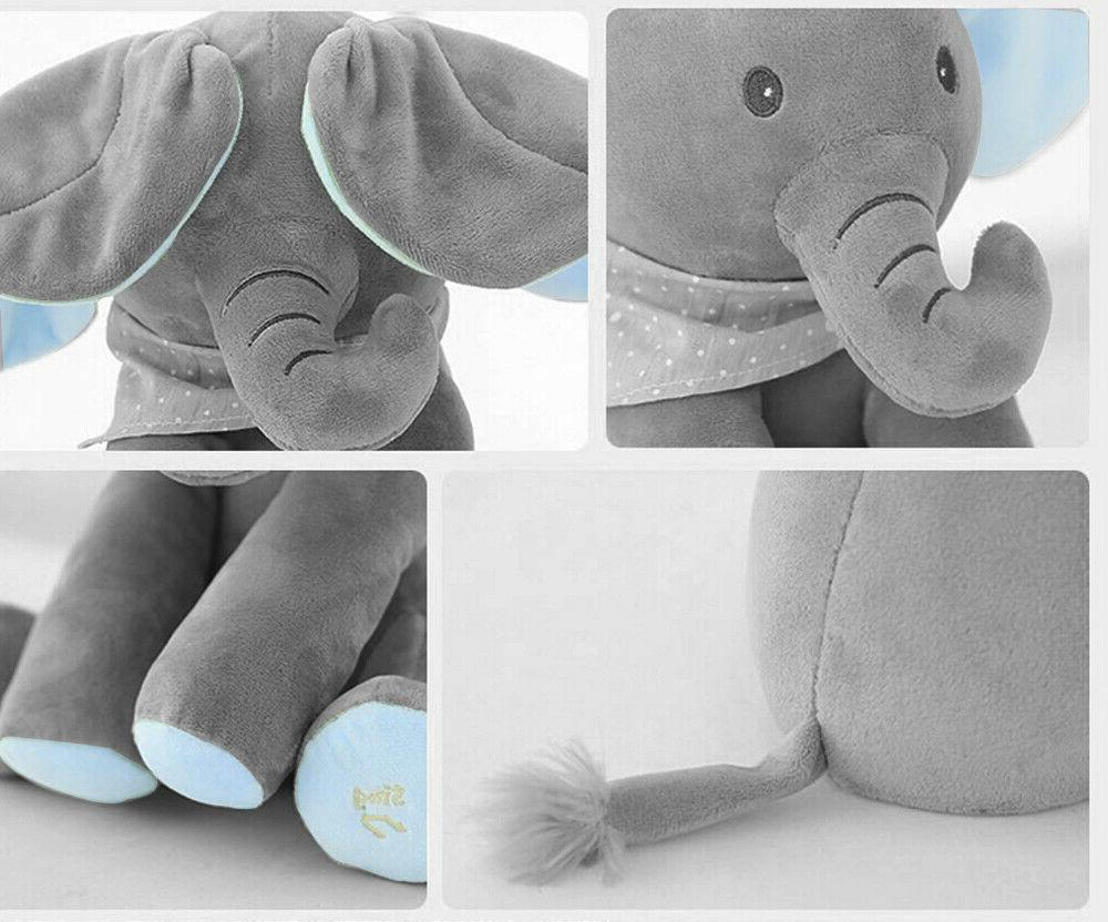 Flappy Ear Peek-a-boo Sing & Play Plush Toy