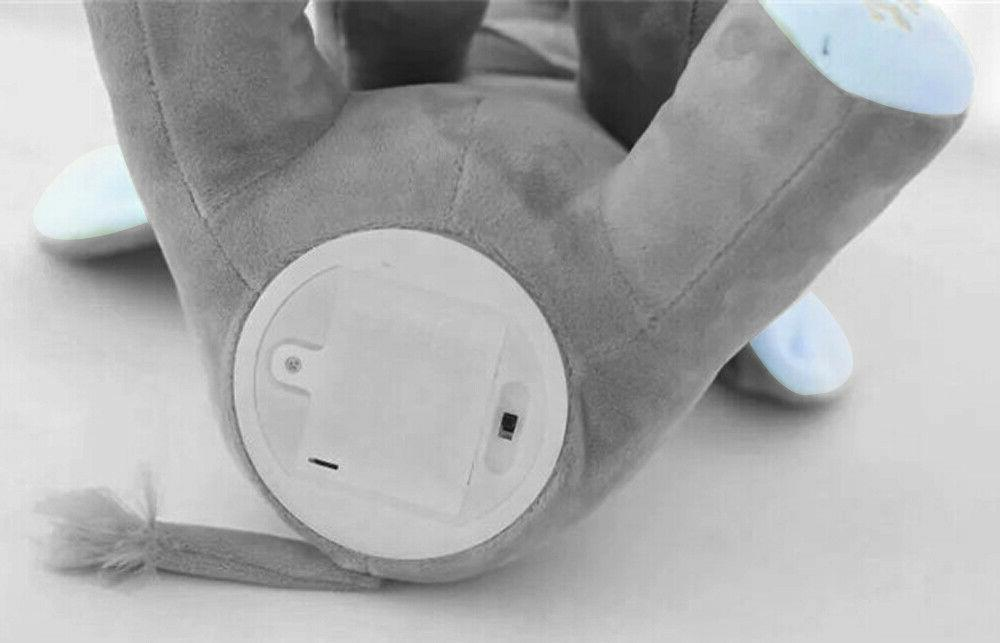 Flappy Ear The Elephant Peek-a-boo Liam Lena Sing & Toy Baby