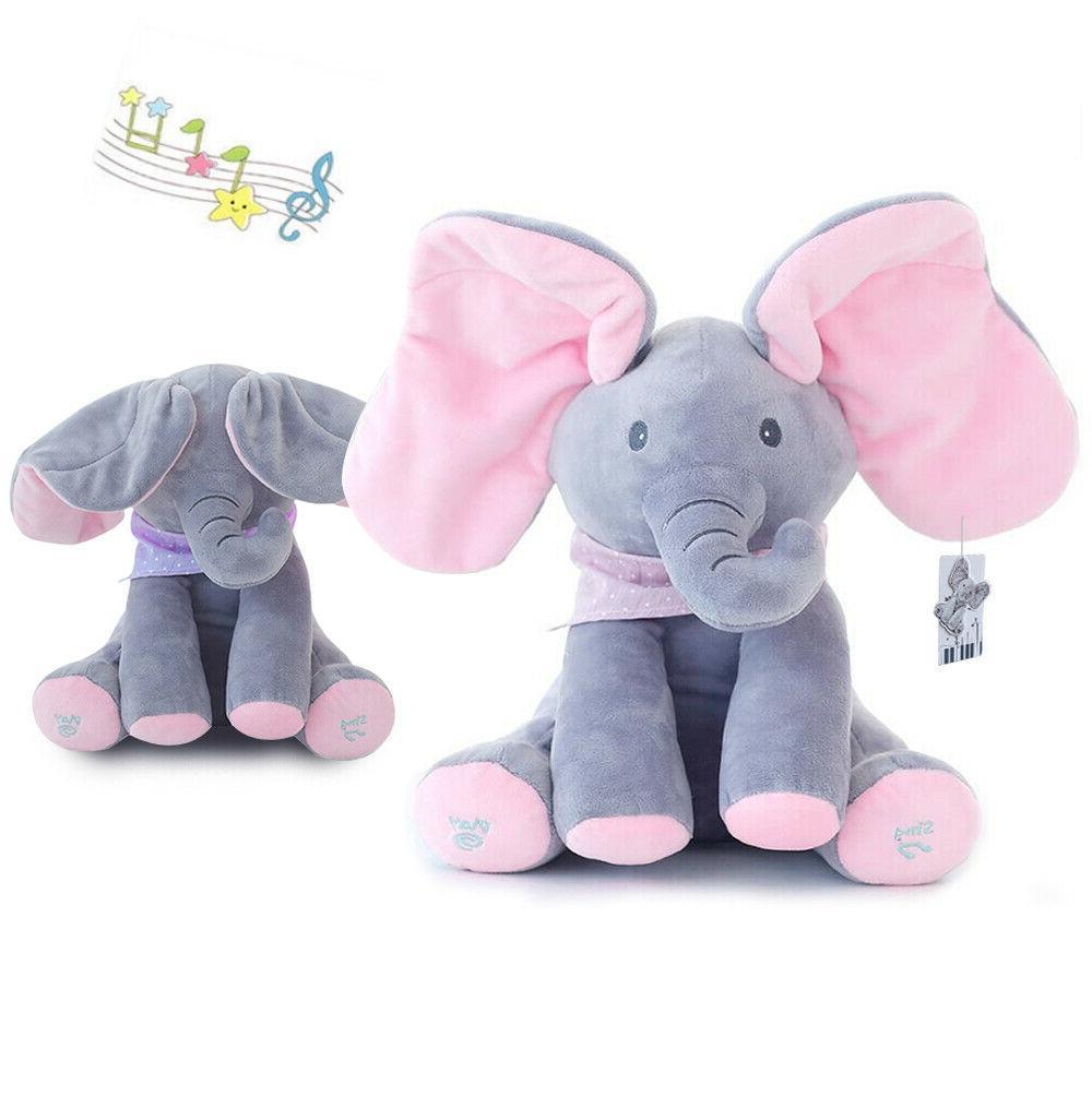 flappy ear the elephant peek a boo