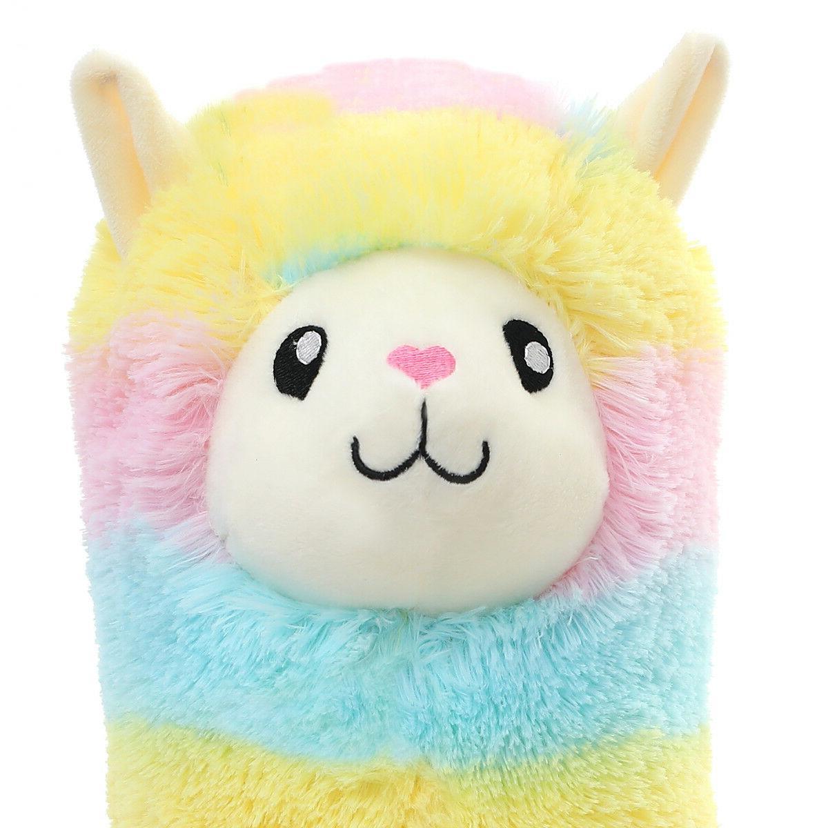 Winsterch Fluffy Toy Llama Animal