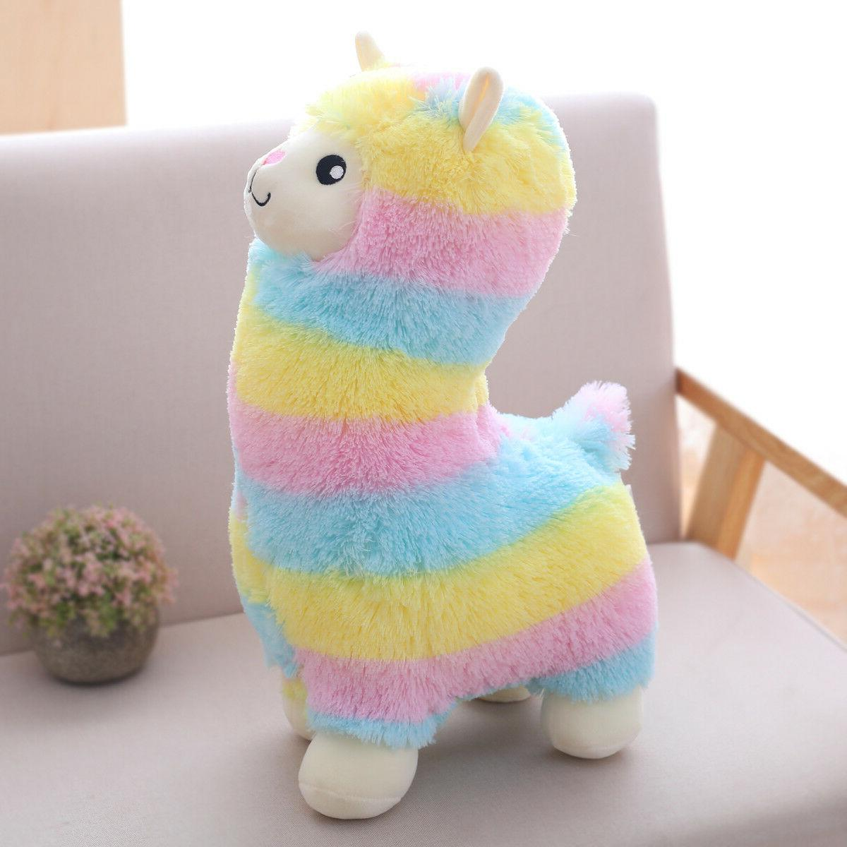 Winsterch Toy Llama Animal 17.7 inches