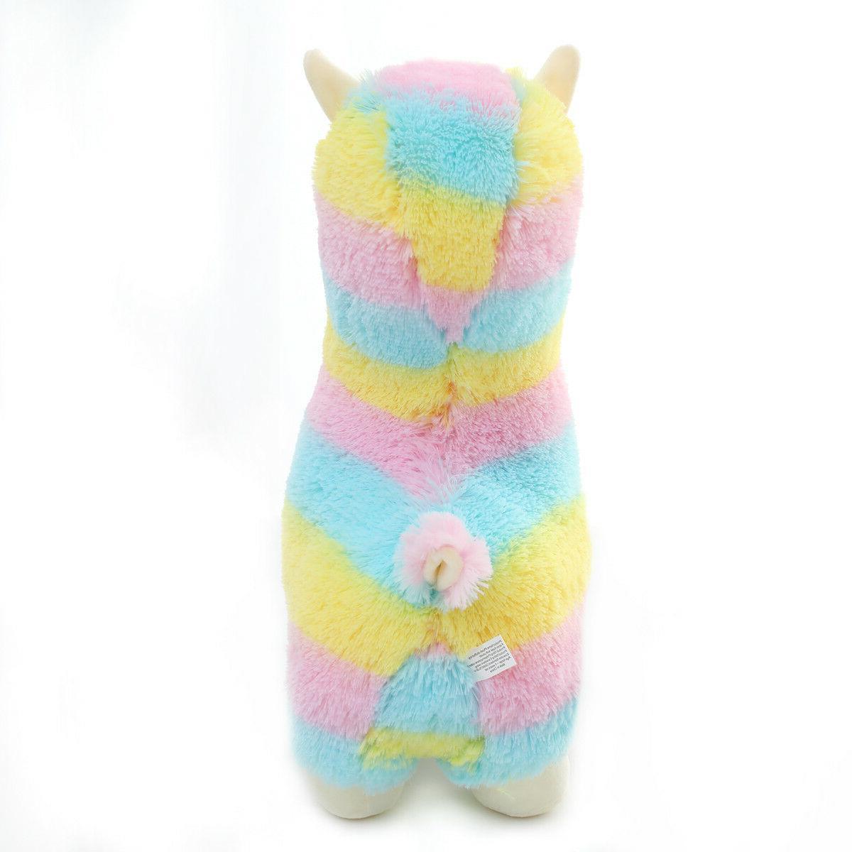 Winsterch Fluffy Soft Plush Toy Llama inches