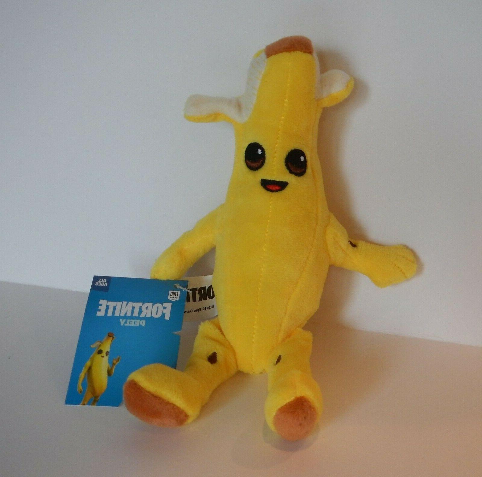 fortnite peely nana banana plush 8 inch