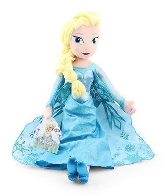 "Disney Frozen & Plush Set 16"" Toy"