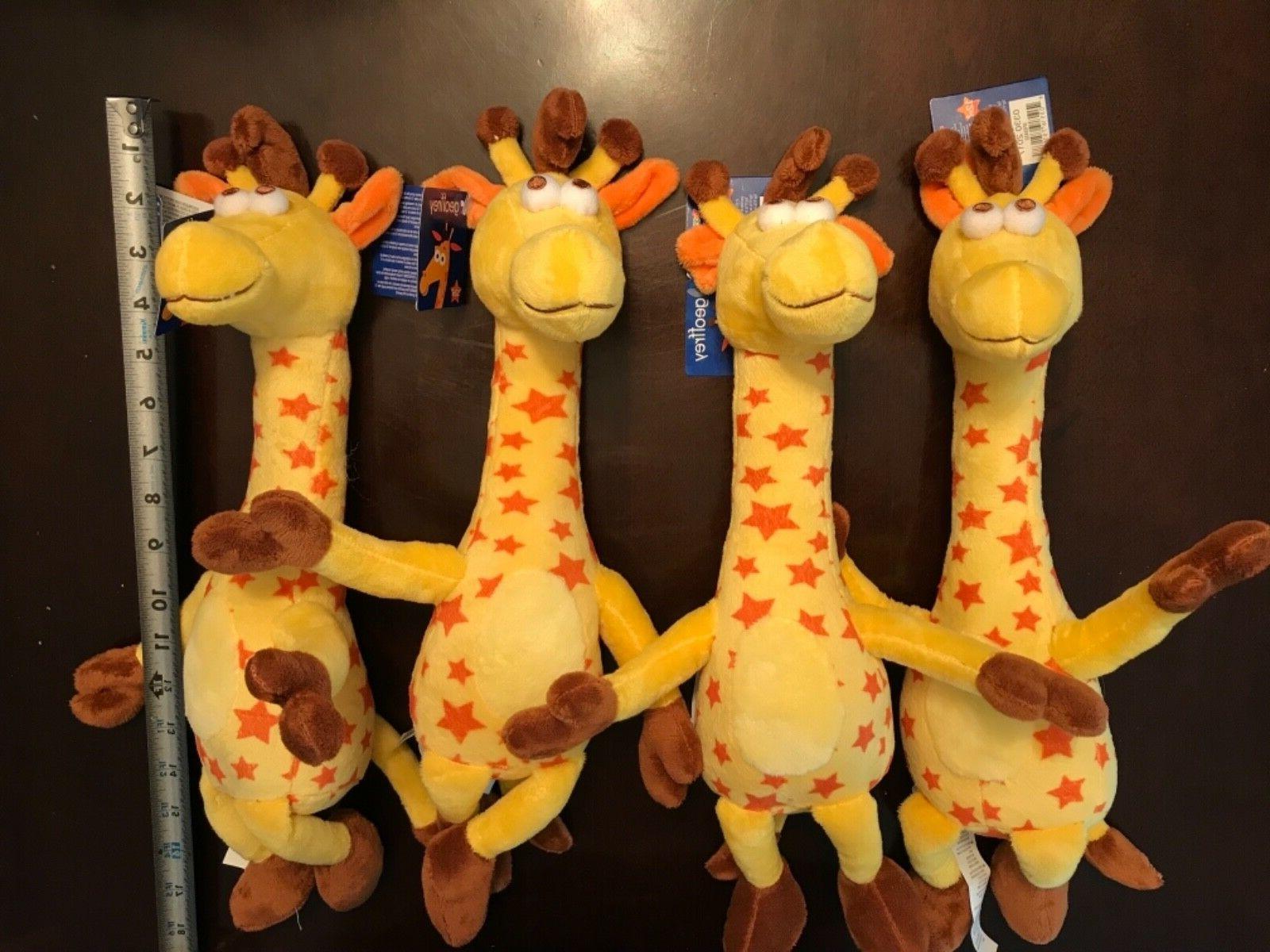 geoffrey giraffe plush stuffed animal by toys