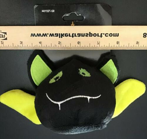 Halloween lime accents Squeaker Plush Pet Dog
