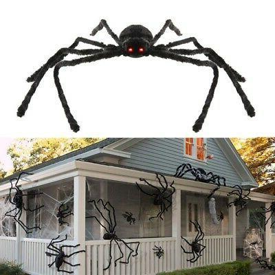 Halloween Fake Spider Plush Toy Large Party Prank Funny Joke