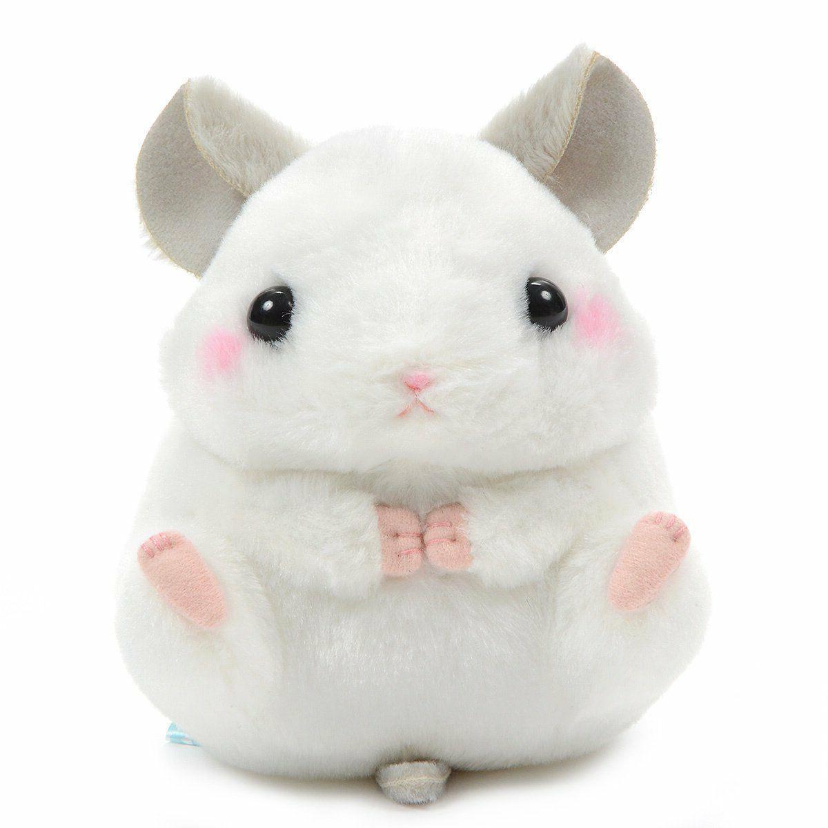 Stuffed Animal Plushie Standard Size Amuse White