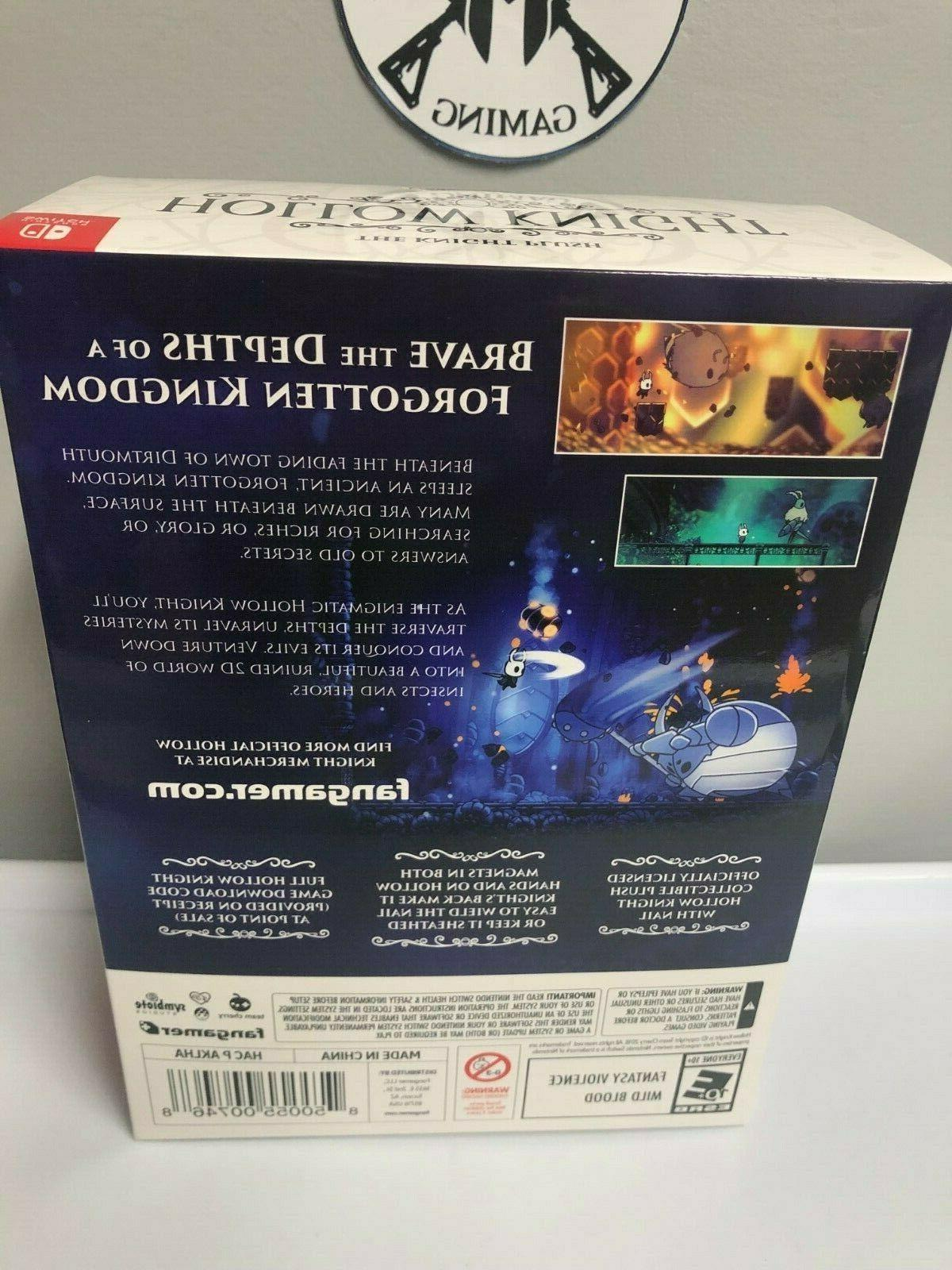 Hollow Plush In Nintendo Switch, New Sealed