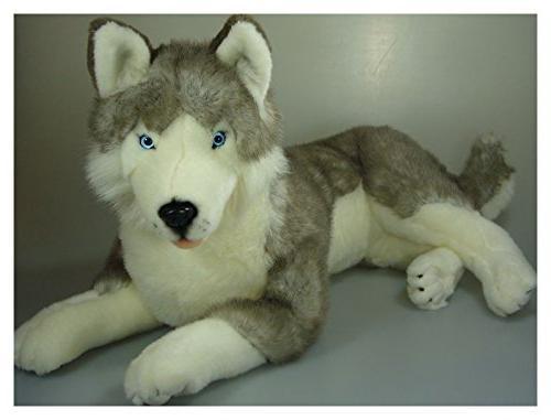 husky stuffed animal rocco