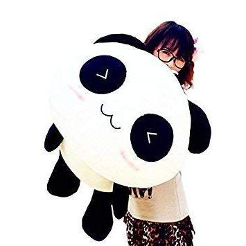 interesting cute panda pillow soft
