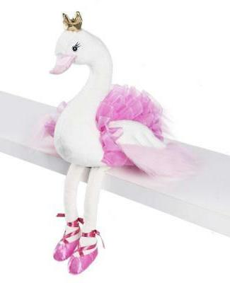 Ganz Kids Baby Plush Toy 10 inches - Swanslea Swan Pink