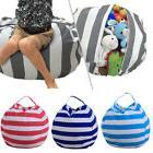 Kids Stuffed Animal Plush Toy Storage Bean Bag Soft Pouch St