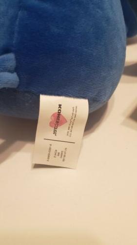 """Cat Blue Plush 16"""""""