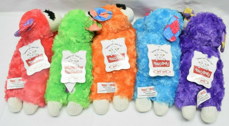 Lamb Chop Dog Toy w/ - Assorted