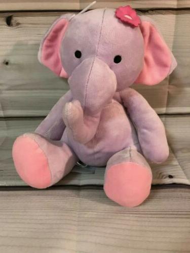 lambs and ivy bedtime originals plush elephant