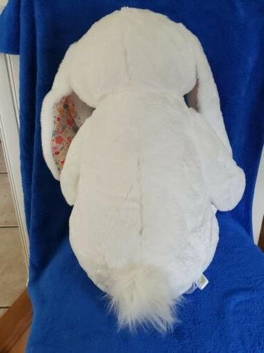Large Bunny ~ White ~ w/