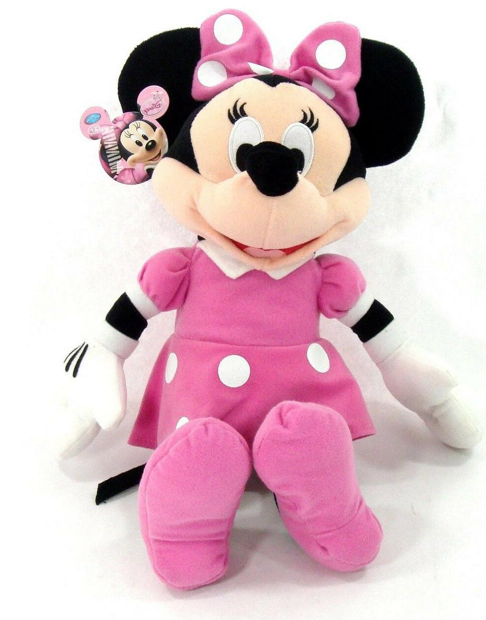 licensed clubhouse minnie mouse soft plush doll