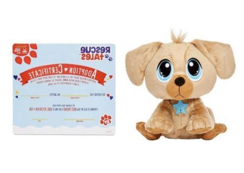 Little Rescue Adoptable Pet Interactive Plush