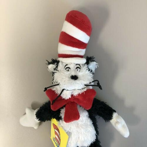 Manhattan Toy Seus in the Hat Authentic Plush New with Tag