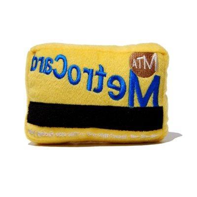Fab Dog Metro Card Plush Toy