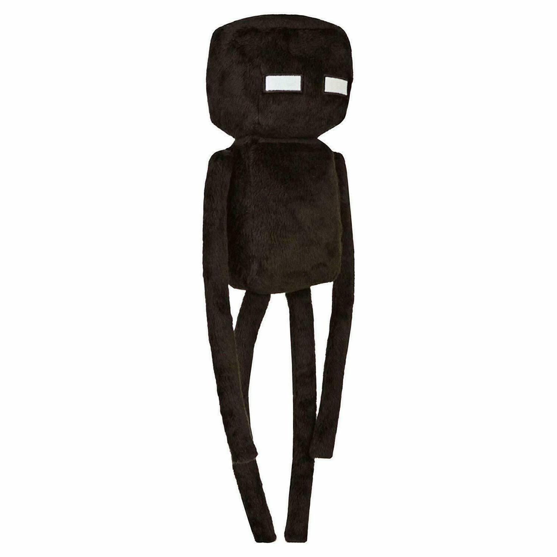 minecraft plush doll black enderman 13 inch