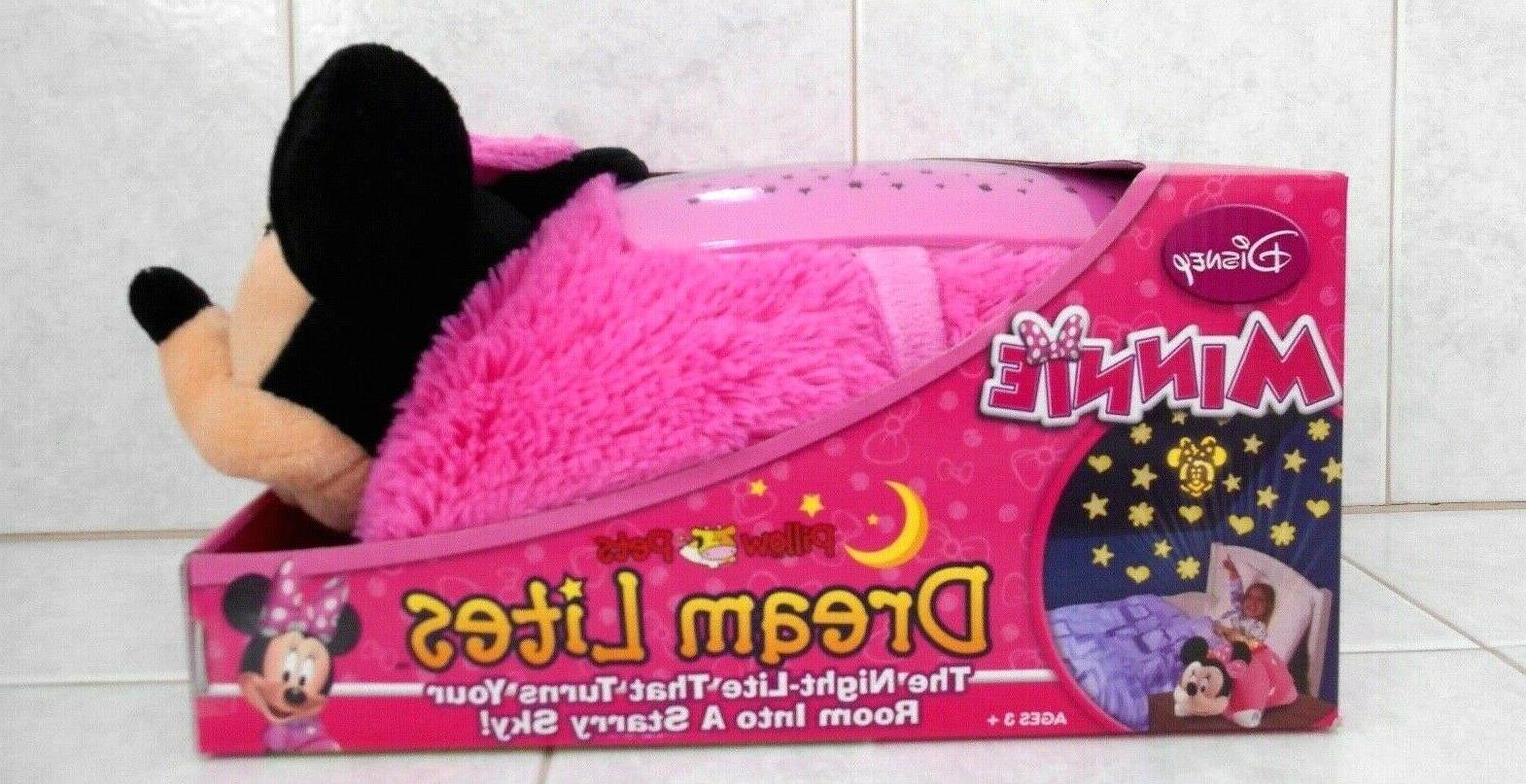 minnie mouse pillow pets dream lites large