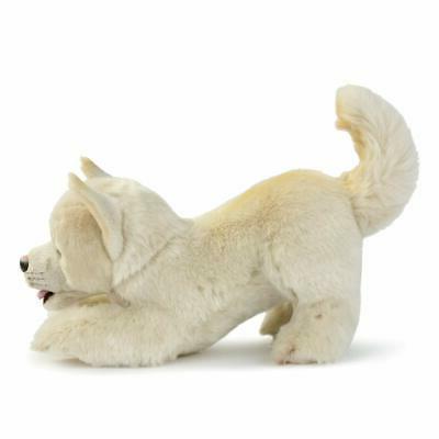 DEMDACO Dog Soft White inch Figure Toy