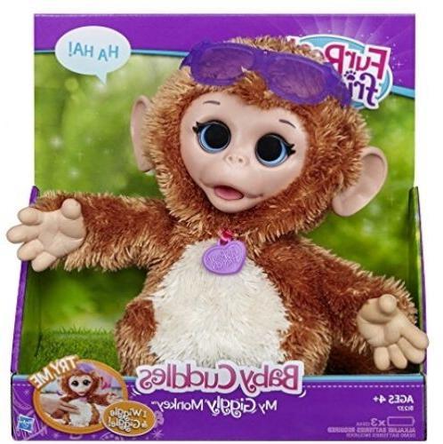 Monkey Pet Plush, Stuffed Toy Interactive Pets Fur Electroni