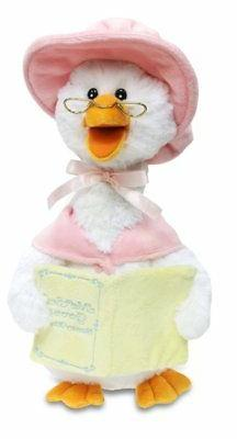 Cuddle Barn Mother Goose Animated Talking Musical Plush Toy,
