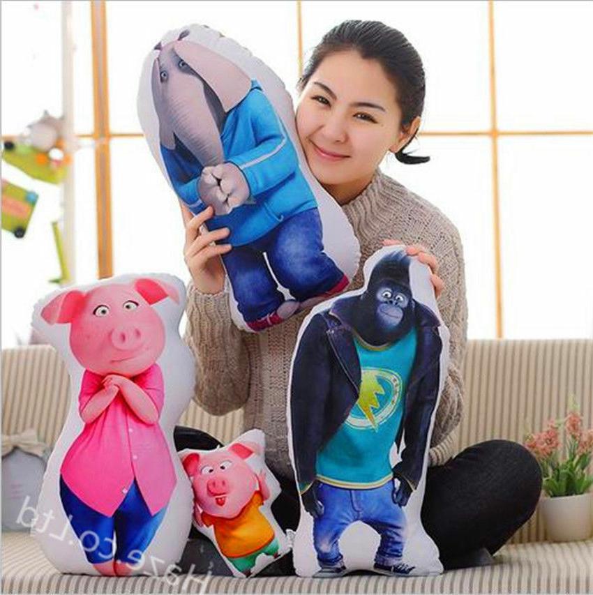 movie sing cartoon childern toys plush toys