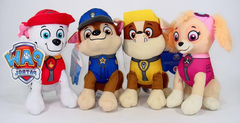 Stuffed Toy Marshall, Rubble Skye