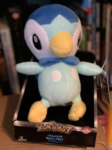 NEW 2015 POKÉMON PIPLUP TRAINERS CHOICE 3 PLUSH TOY BY TOMY