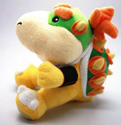 New Jr Koopa Super Stuffed