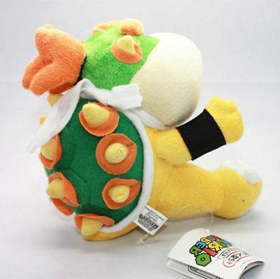 New Jr Koopa Plush Super Mario Brother Stuffed