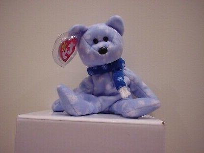 new beanie baby 1999 holiday teddy bear