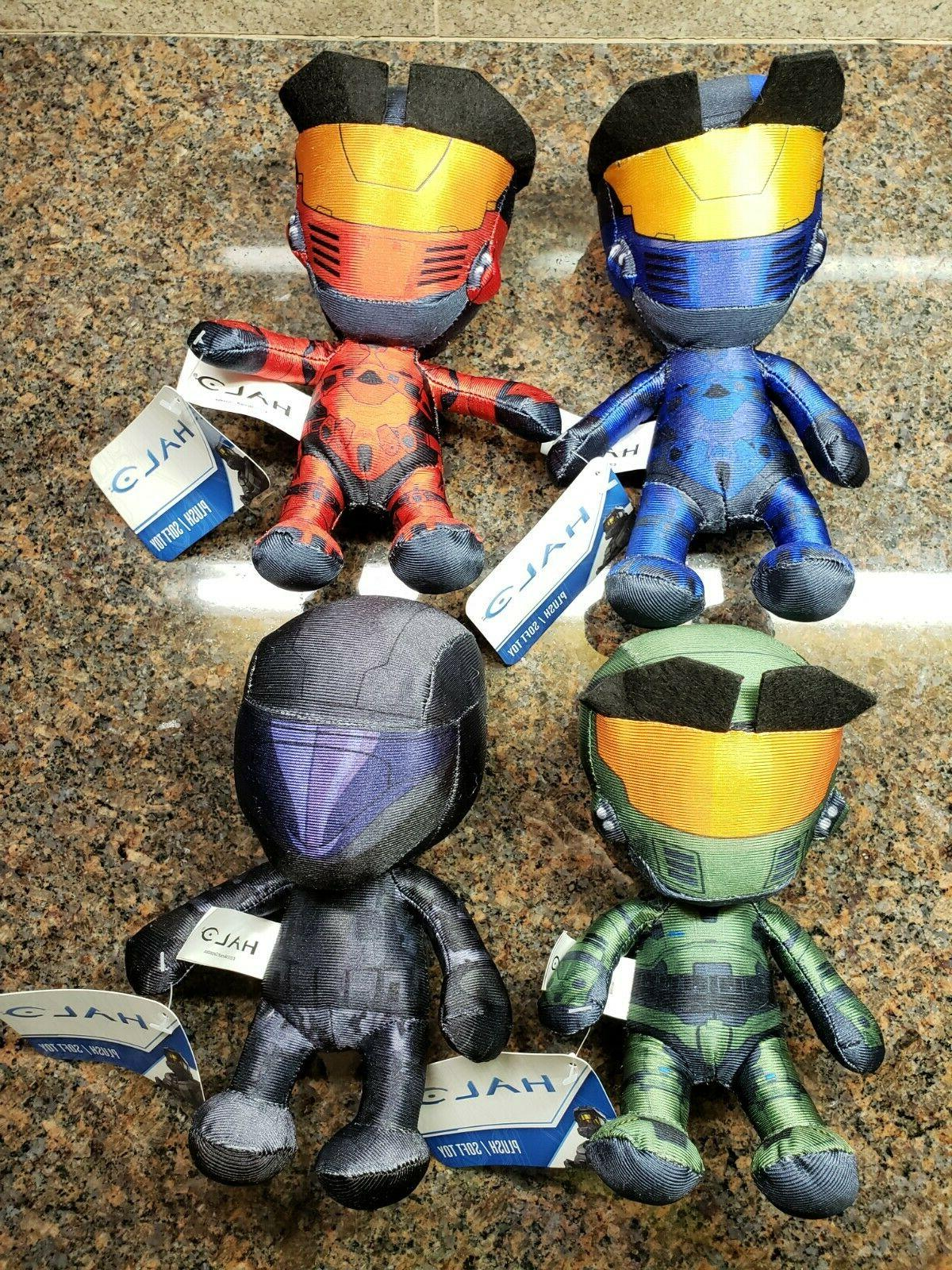 new halo plush set toy doll figures