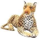 New Leopard Plush Toy Simulation Stuffed Animal Classic Toys