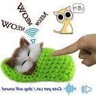 New Lifelike Kid Toys Cute Plush Cat Soft Doll Lifelike Simu