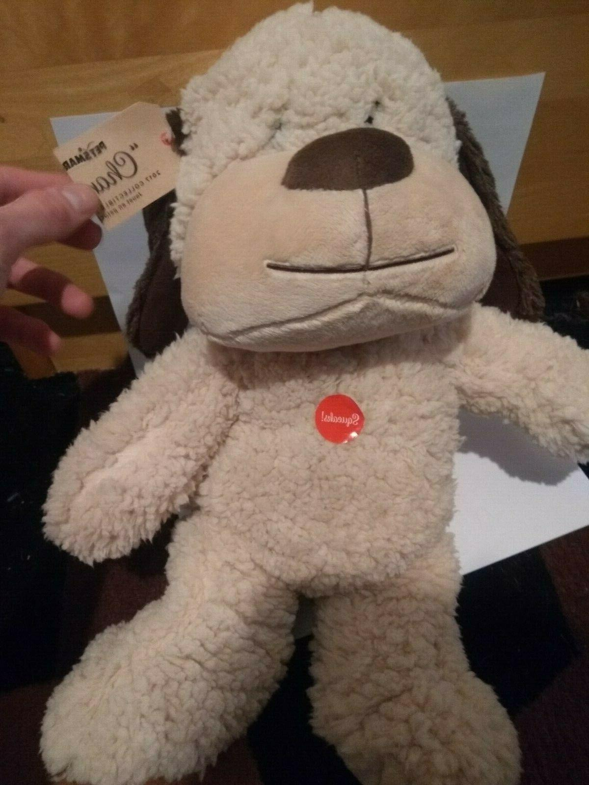 new nwt 2017 chance dog squeaky collectible