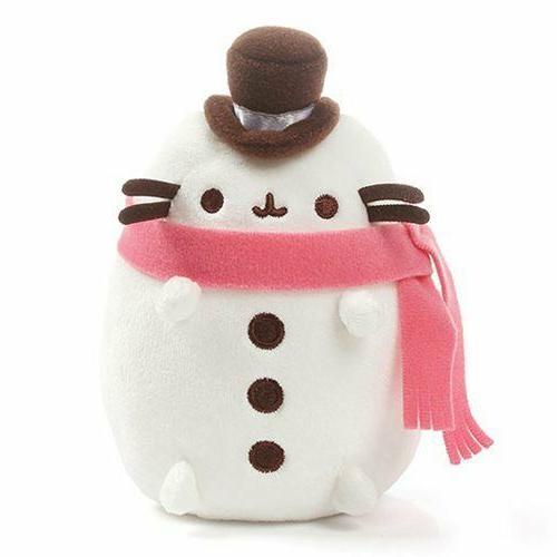 Gund New Pusheen * Pusheen Snowman * 6.5-Inch Plush Cat Toy