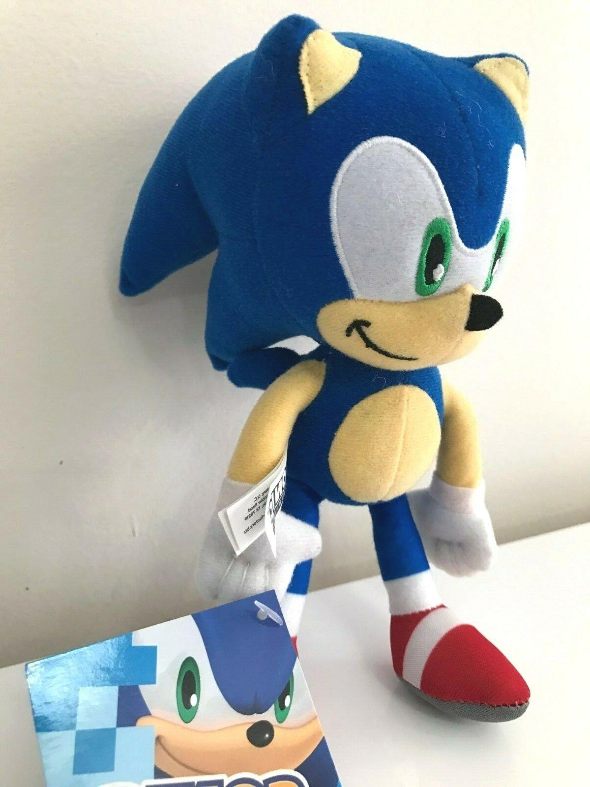 """NEW Sonic 8"""" Licensed Kids Toy. NWT."""