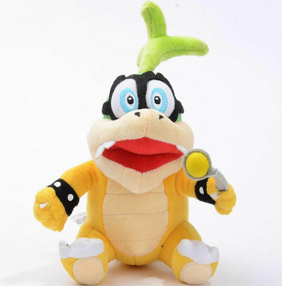 New Mario Iggy Koopa Series Stuffed Animal