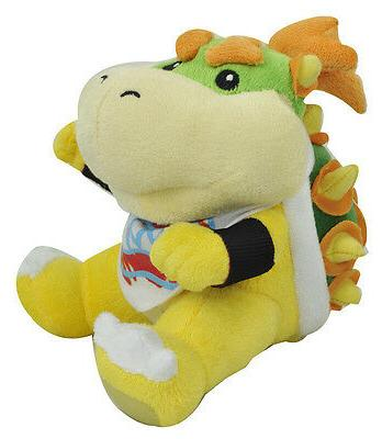 New Mario Koopa Bowser Toy Soft Stuffed Animal 7""