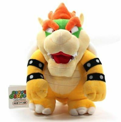 New Brothers Bros. Party Bowser Plush Animal