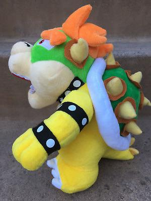 "New Brothers Bros. Party Bowser 10"" Plush Toy Animal"